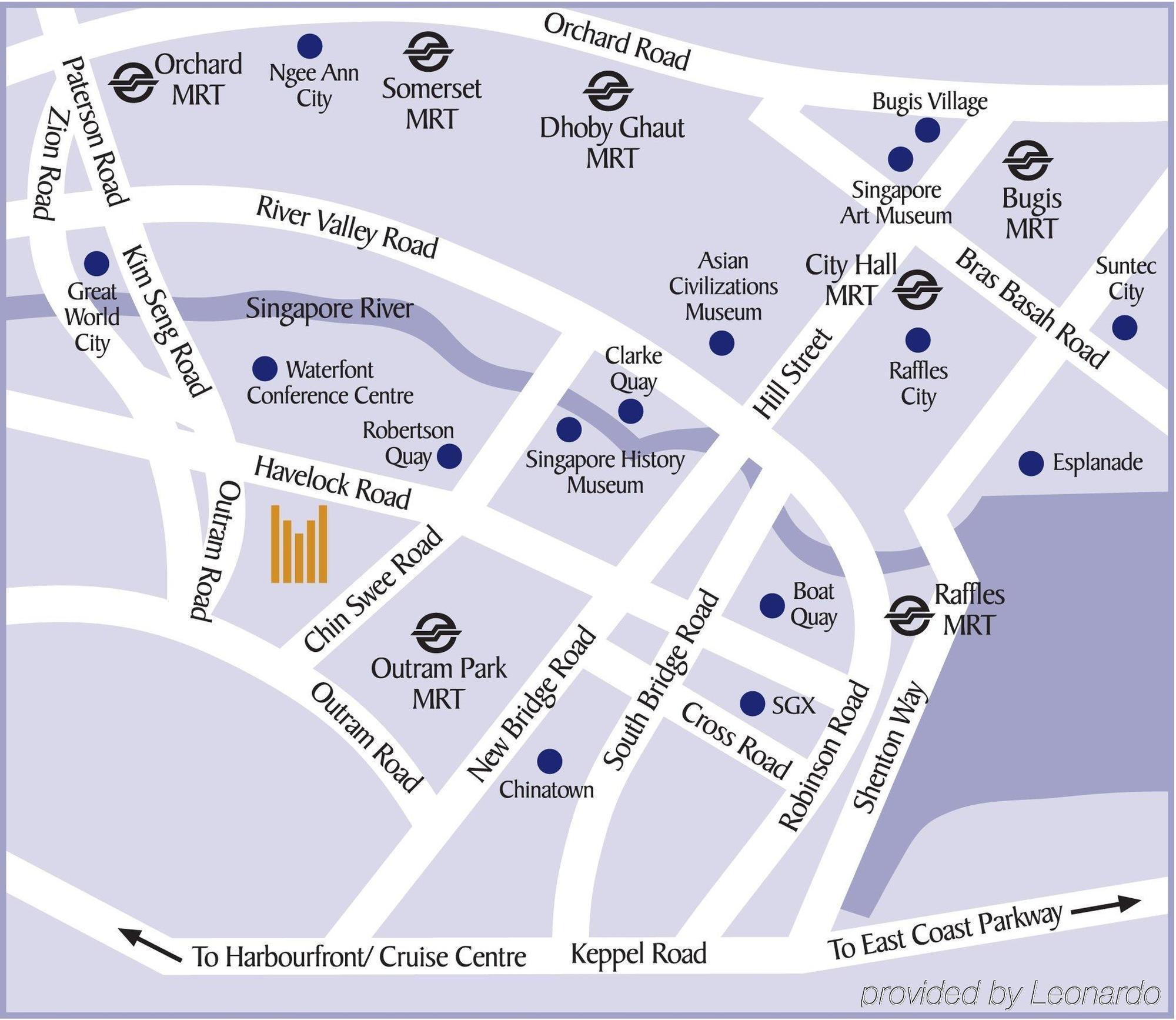 Novotel Singapore Clarke Quay (Hotel) - 177A River Valley